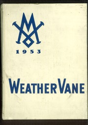 Page 1, 1953 Edition, Maumee Valley Country Day High School - Weather Vane Yearbook (Toledo, OH) online yearbook collection