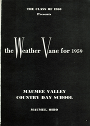 Page 5, 1959 Edition, Maumee Valley Country Day High School - Weather Vane Yearbook (Toledo, OH) online yearbook collection