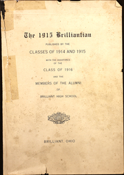 1915 Edition, Brilliant High School - Blue Devil Yearbook (Brilliant, OH)