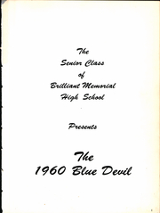 Page 3, 1960 Edition, Brilliant High School - Blue Devil Yearbook (Brilliant, OH) online yearbook collection