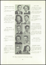Page 19, 1947 Edition, Uhrichsville High School - Yearbook (Uhrichsville, OH) online yearbook collection