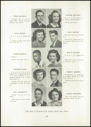 Page 20, 1947 Edition, Uhrichsville High School - Yearbook (Uhrichsville, OH) online yearbook collection