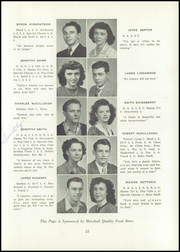 Page 25, 1947 Edition, Uhrichsville High School - Yearbook (Uhrichsville, OH) online yearbook collection