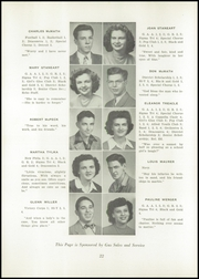 Page 26, 1947 Edition, Uhrichsville High School - Yearbook (Uhrichsville, OH) online yearbook collection