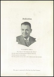 Page 7, 1950 Edition, Uhrichsville High School - Yearbook (Uhrichsville, OH) online yearbook collection