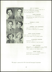 Page 36, 1955 Edition, Uhrichsville High School - Yearbook (Uhrichsville, OH) online yearbook collection