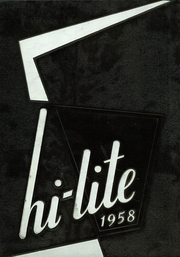 1958 Edition, New Riegel High School - Hi Lite Yearbook (New Riegel, OH)