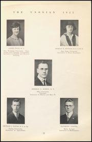 Page 13, 1922 Edition, Malta McConnelsville High School - Unonian Yearbook (McConnelsville, OH) online yearbook collection