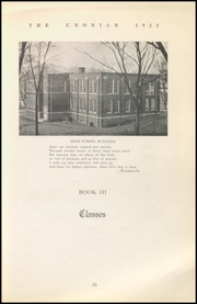 Page 17, 1922 Edition, Malta McConnelsville High School - Unonian Yearbook (McConnelsville, OH) online yearbook collection