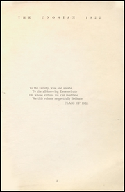 Page 5, 1922 Edition, Malta McConnelsville High School - Unonian Yearbook (McConnelsville, OH) online yearbook collection