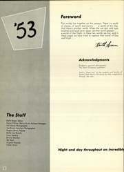 Page 6, 1953 Edition, Eastern New Mexico University - Silver Pack Yearbook (Portales, NM) online yearbook collection