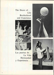 Page 12, 1971 Edition, Eastern New Mexico University - Silver Pack Yearbook (Portales, NM) online yearbook collection