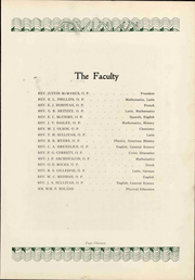 Page 21, 1929 Edition, Aquinas College High School - Aquinian Yearbook (Columbus, OH) online yearbook collection