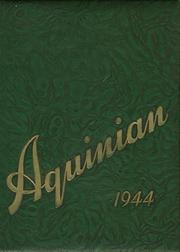 Aquinas College High School - Aquinian Yearbook (Columbus, OH) online yearbook collection, 1944 Edition, Page 1
