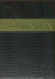 Aquinas College High School - Aquinian Yearbook (Columbus, OH) online yearbook collection, 1945 Edition, Page 1