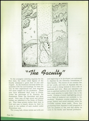 Page 10, 1945 Edition, Aquinas College High School - Aquinian Yearbook (Columbus, OH) online yearbook collection