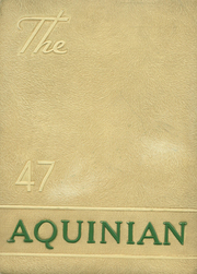 Aquinas College High School - Aquinian Yearbook (Columbus, OH) online yearbook collection, 1947 Edition, Page 1