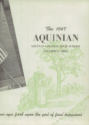 Page 7, 1947 Edition, Aquinas College High School - Aquinian Yearbook (Columbus, OH) online yearbook collection