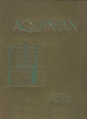 Page 1, 1953 Edition, Aquinas College High School - Aquinian Yearbook (Columbus, OH) online yearbook collection
