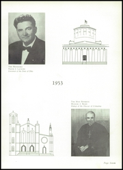 Page 11, 1953 Edition, Aquinas College High School - Aquinian Yearbook (Columbus, OH) online yearbook collection