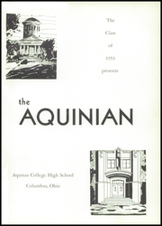 Page 5, 1953 Edition, Aquinas College High School - Aquinian Yearbook (Columbus, OH) online yearbook collection