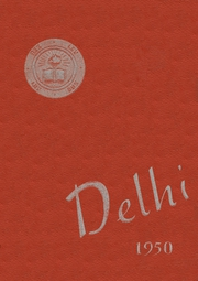 Page 1, 1950 Edition, Frank B Willis High School - Delhi Yearbook (Delaware, OH) online yearbook collection