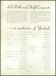 Page 14, 1950 Edition, Frank B Willis High School - Delhi Yearbook (Delaware, OH) online yearbook collection