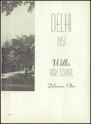 Page 7, 1951 Edition, Frank B Willis High School - Delhi Yearbook (Delaware, OH) online yearbook collection