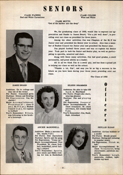 Page 12, 1952 Edition, Greensburg High School - Hi Lites Yearbook (Greensburg, OH) online yearbook collection