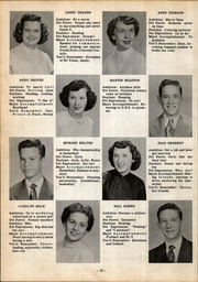 Page 14, 1952 Edition, Greensburg High School - Hi Lites Yearbook (Greensburg, OH) online yearbook collection