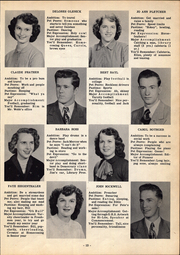 Page 17, 1952 Edition, Greensburg High School - Hi Lites Yearbook (Greensburg, OH) online yearbook collection