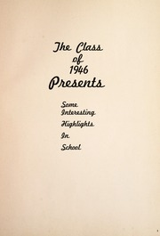 Page 7, 1946 Edition, Sycamore High School - SIHIS Yearbook (Sycamore, OH) online yearbook collection