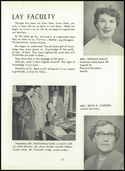Page 17, 1955 Edition, St Marys High School - Bluebook Yearbook (Akron, OH) online yearbook collection