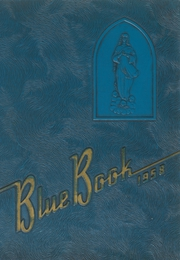 Page 1, 1958 Edition, St Marys High School - Bluebook Yearbook (Akron, OH) online yearbook collection