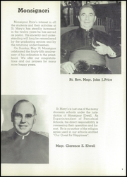 Page 13, 1958 Edition, St Marys High School - Bluebook Yearbook (Akron, OH) online yearbook collection