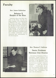 Page 15, 1958 Edition, St Marys High School - Bluebook Yearbook (Akron, OH) online yearbook collection