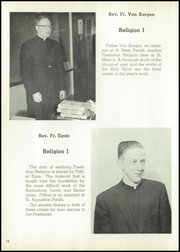 Page 16, 1958 Edition, St Marys High School - Bluebook Yearbook (Akron, OH) online yearbook collection