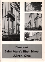 Page 5, 1965 Edition, St Marys High School - Bluebook Yearbook (Akron, OH) online yearbook collection