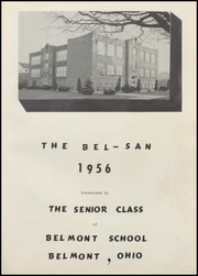 Page 5, 1956 Edition, Belmont High School - Bel San Yearbook (Belmont, OH) online yearbook collection