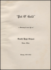 Page 5, 1952 Edition, South High School - Pot O Gold Yearbook (Lima, OH) online yearbook collection