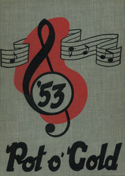 1953 Edition, South High School - Pot O Gold Yearbook (Lima, OH)