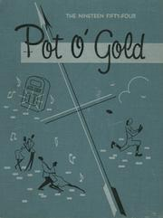 1954 Edition, South High School - Pot O Gold Yearbook (Lima, OH)