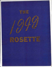 Roseville High School - Rosette Yearbook (Roseville, OH) online yearbook collection, 1949 Edition, Page 1