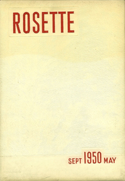 Roseville High School - Rosette Yearbook (Roseville, OH) online yearbook collection, 1950 Edition, Page 1