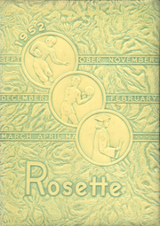 1952 Edition, Roseville High School - Rosette Yearbook (Roseville, OH)