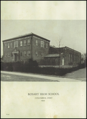Page 8, 1947 Edition, Rosary High School - Campanile Yearbook (Columbus, OH) online yearbook collection