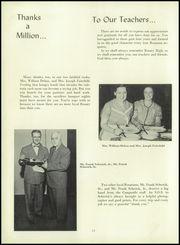 Page 16, 1953 Edition, Rosary High School - Campanile Yearbook (Columbus, OH) online yearbook collection