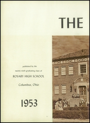 Page 6, 1953 Edition, Rosary High School - Campanile Yearbook (Columbus, OH) online yearbook collection
