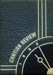 1953 Edition, St John Cantius High School - Review Yearbook (Cleveland, OH)