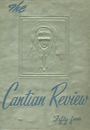 1954 Edition, St John Cantius High School - Review Yearbook (Cleveland, OH)